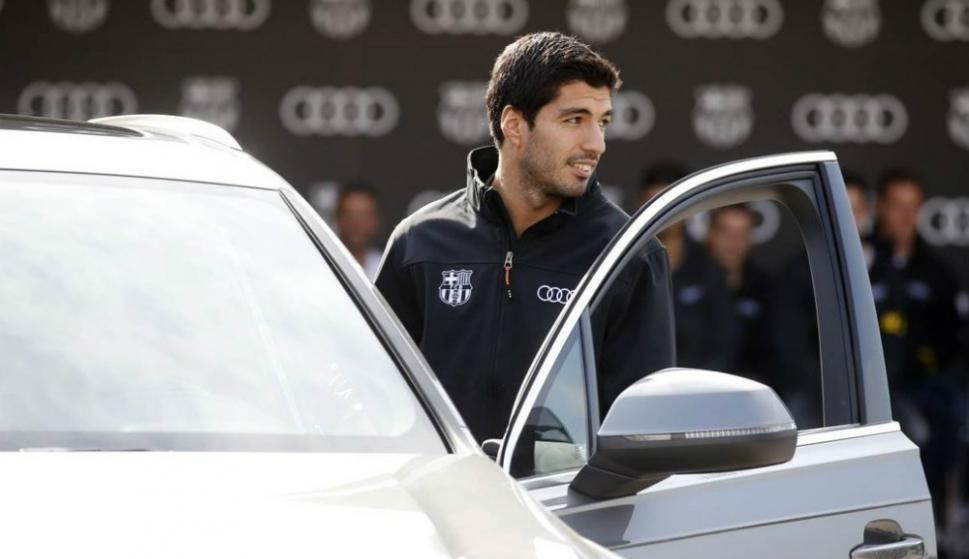 Suárez inscribió su nombre en el top 10 de goleadores del Barça