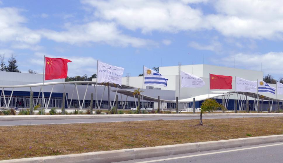 A lo largo de dos días Punta del Este será la capital del comercio y la diplomacia entre China y Latinoamérica y el Caribe. Foto: Ricardo Figueredo