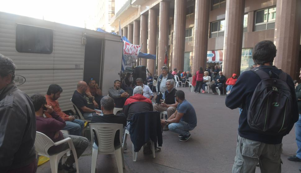 Hoy se realizaría en envío de paro de decenas de trabajadores. Foto: Francisco Flores
