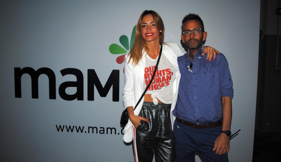 Claudia Fernández, Marco Calache.