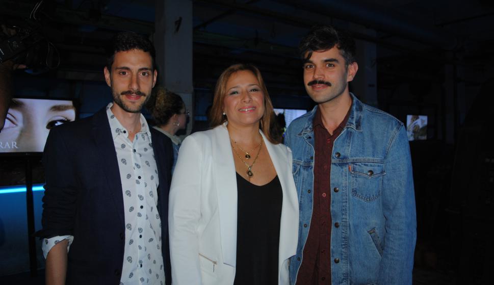 Joaquín Pastorino, Elisa Areán, Mauricio Pizard.
