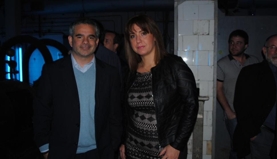 Oscar Curuchet, Paula Valente.