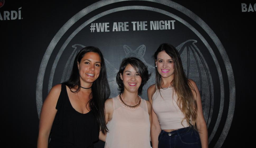 Fiorella De Souza, Nadia Ferré, Andrea Martínez.