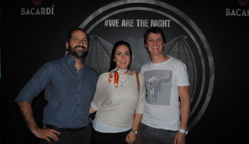 Marcelo Verdecchia, Leticia Peña, Agustín Acervi.