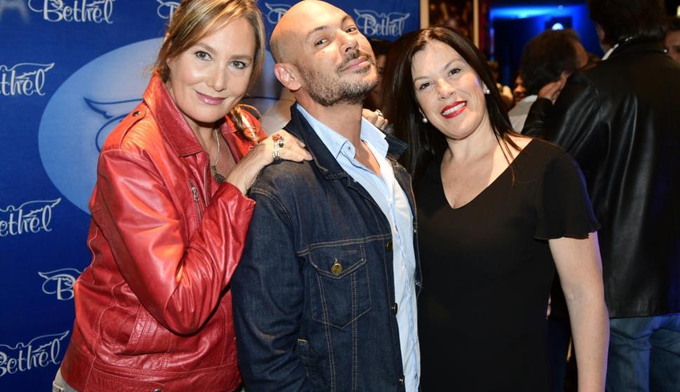 María García, Jimmy Castillo, Lourdes Rapalin.
