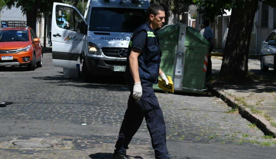 Operativo policial. Foto: Ariel Colmegna