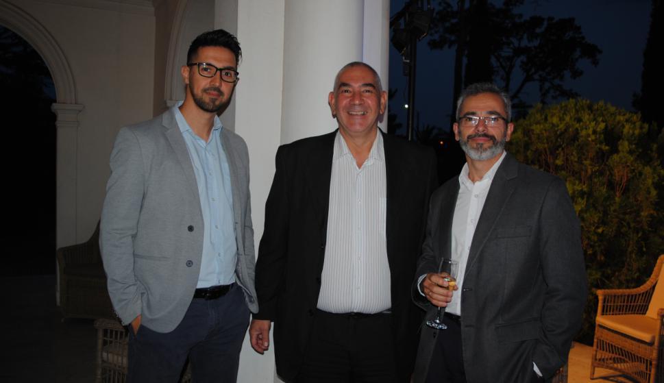 Leonardo Rodríguez, Jorge Sánchez, Norman García.