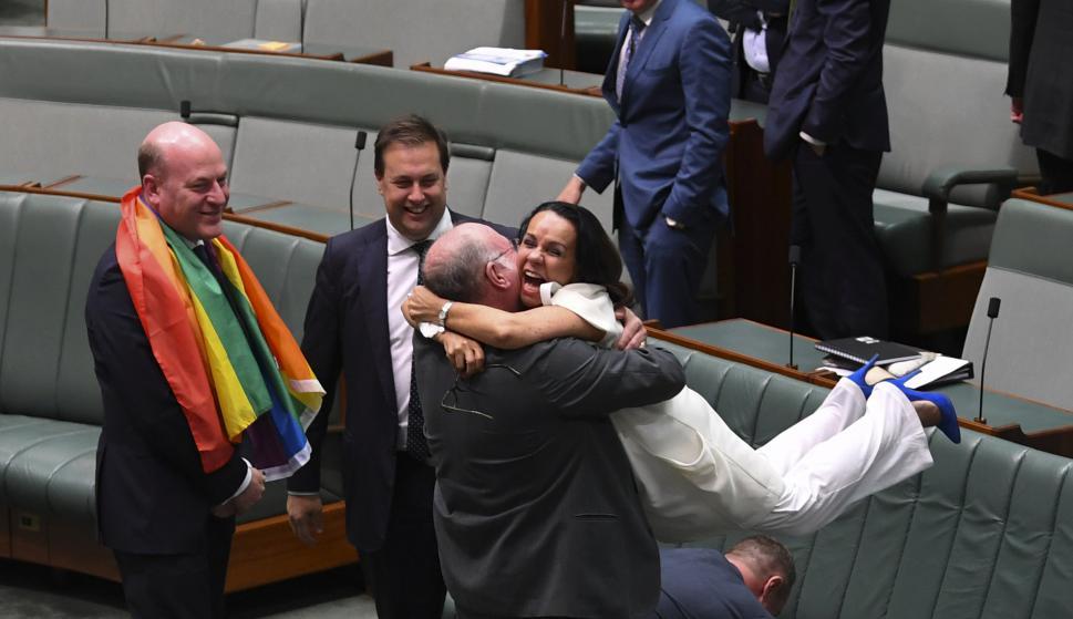 Australia legalizó el matrimonio homosexual. Foto: Reuters