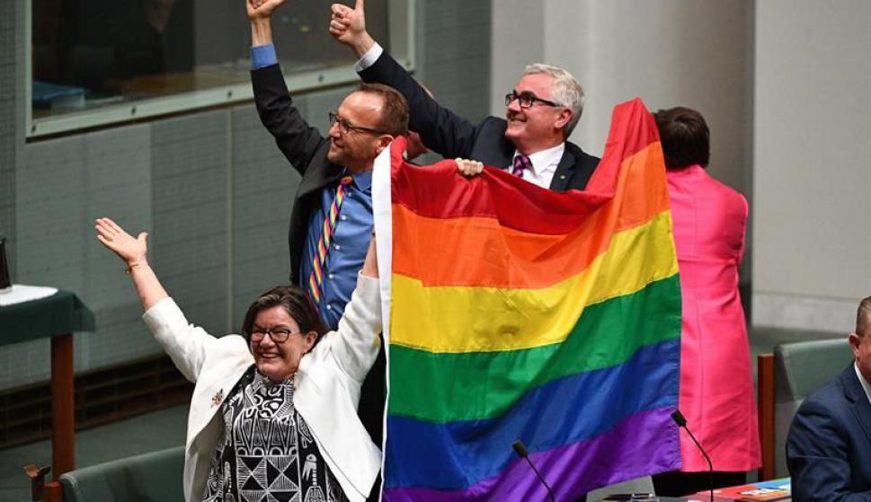 Australia legalizó el matrimonio homosexual. Foto: EFE