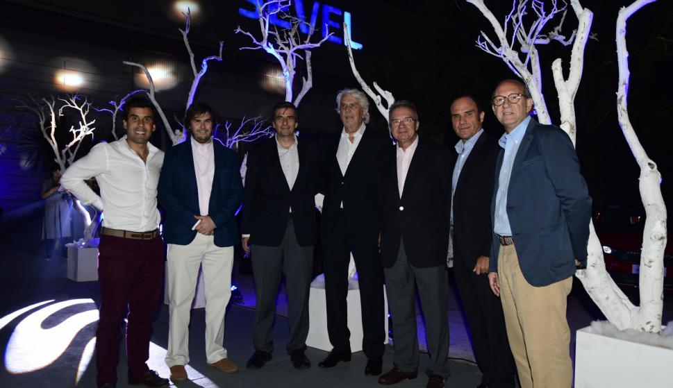 Christian Wilkins, Nicolás y Guillermo Scheck, Juan Carlos Goni, José Giusto, Domenico Capelli,  Emilio Vidal Scheck.