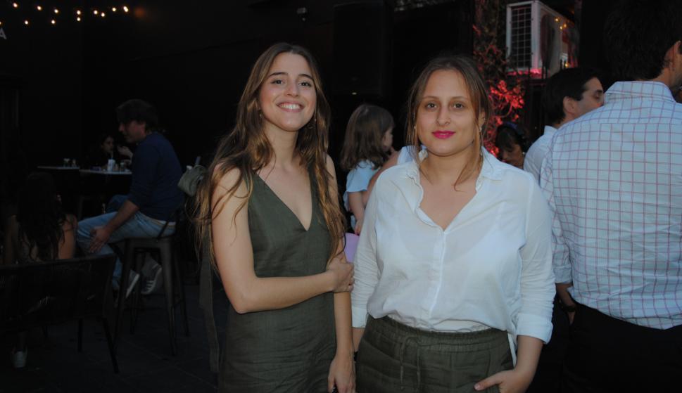 Laura Moreira, Serrana Polcaro.