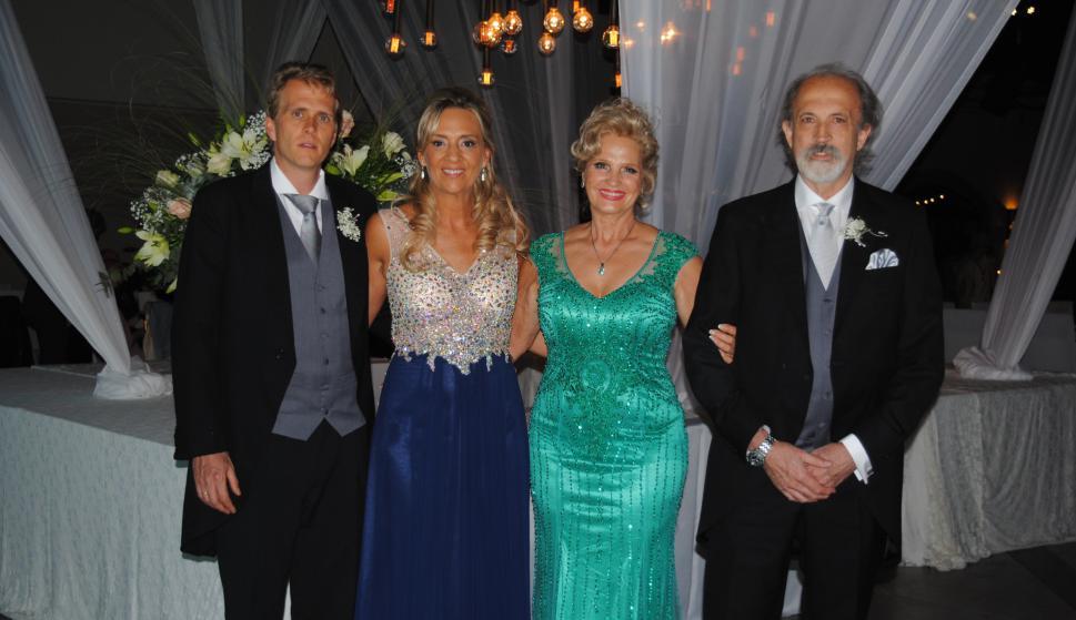Dario Torres, Sandra Camacho, Miriam Dos Santos, Juan B. Martinicorena.