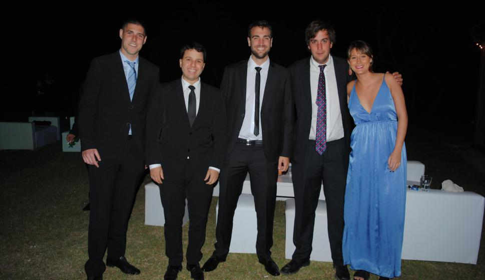 Javier Carmona, Emiliano Goyetche, Facundo Rodríguez, Andres Arlegui, Clara Lorente.