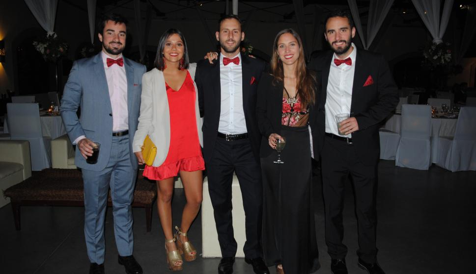 Martín Pérez, Fiorella Luccisano, Diego Puppo, Cecilia Reynaud, Braulio Cantera.