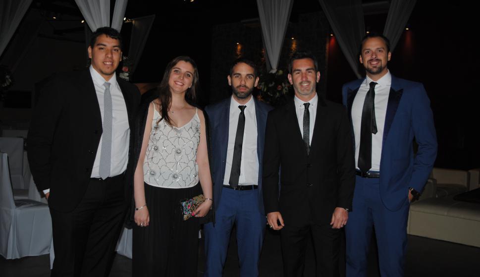 Nicasio Branca, Joaquina Rodríguez, Juan Diego Rodríguez, Gonzalo Martinicorena, Damián Bianchi.
