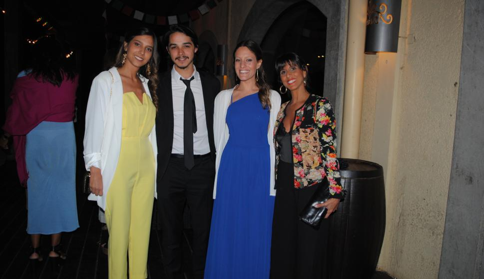Romina Bargo, Santiago Tarallo, Micaela Rivero, Ana Laura Collian.
