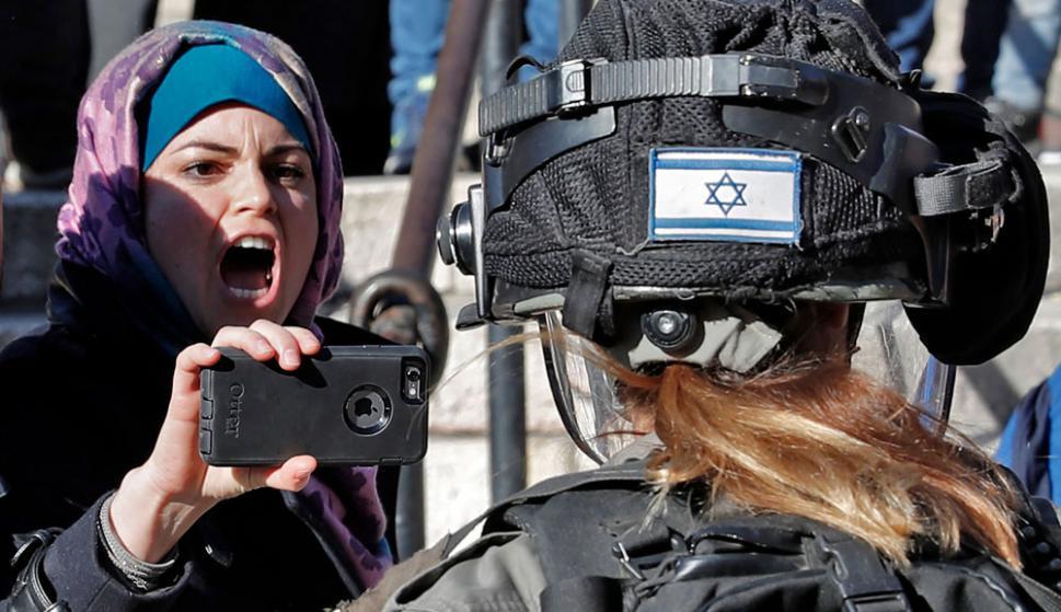 Los palestinos quieren la parte de este de Jerusalén como capital para su futuro estado independiente. Foto: AFP