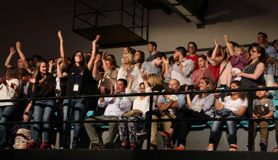 Otra jornada solidaria de la Teletón. Foto: Teletón