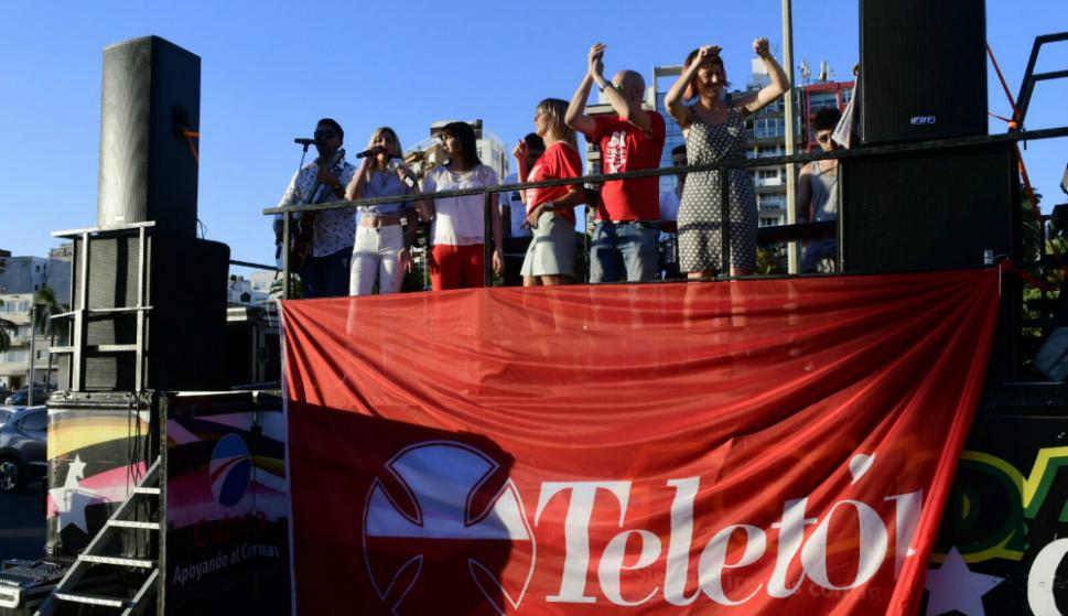 Espectáculo de Teletón 2017. Foto: Marcelo Bonjour.