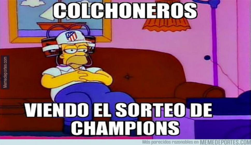 Los memes del sorteo de Champions