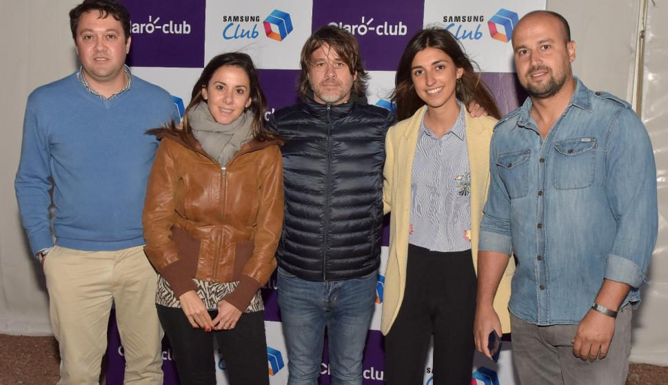 Christian Olmedo, Martina Risso, Danilo Astori, Verónica Comas, Nicolás Vargas.