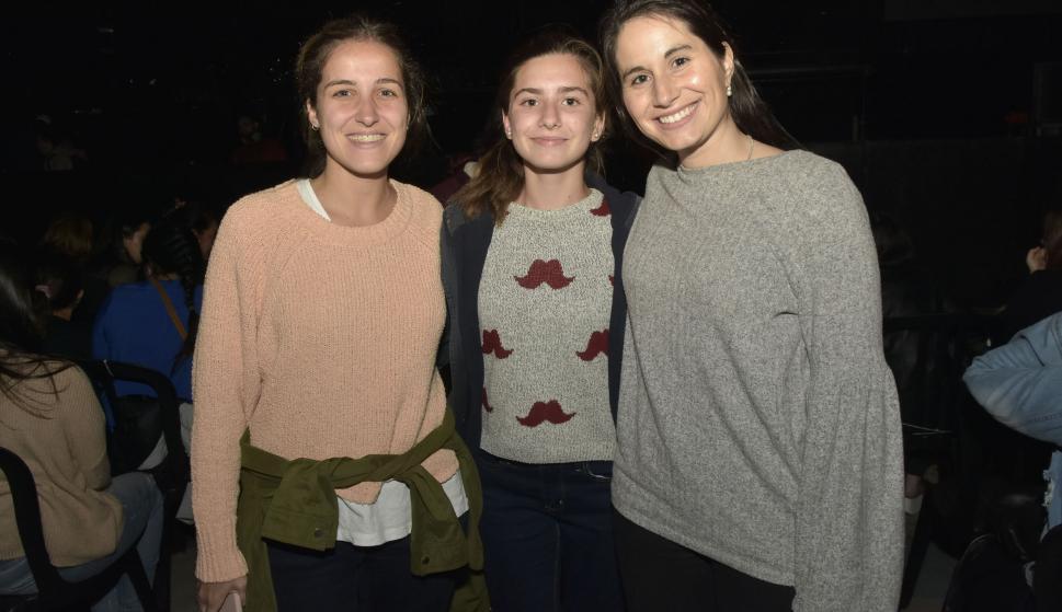 Lorena Estévez, Noelia García, Patricia Aires.