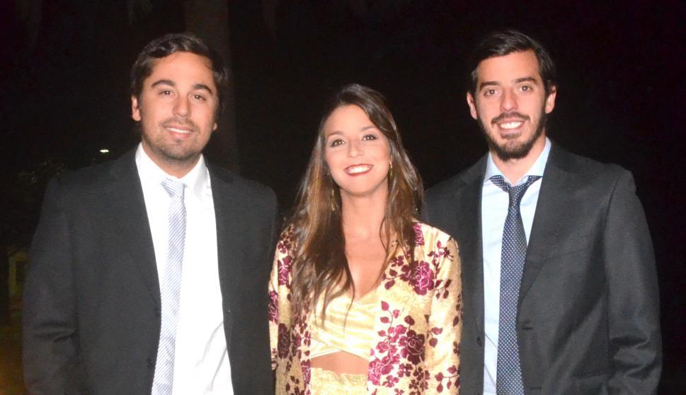 Germán Solé, María Fitipaldo, Daniel Mariano.