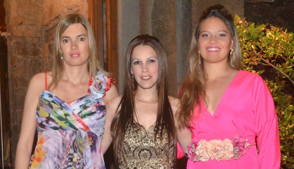 Natalia Muiños, Viviana Guarnieri, Valentina Mermot.