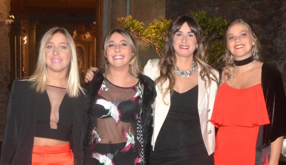 Victoria Canepa, Lucía Regueiro, Paula Hipogroso, Florencia Marchese.