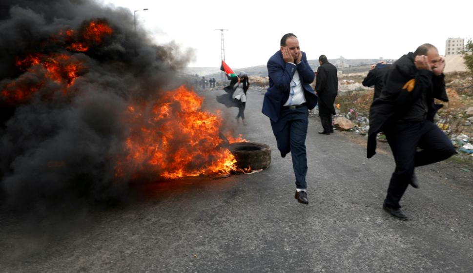 La tensión crece en Medio Oriente tras el anuncio de Trump sobre Jerusalén. Foto: Reuters