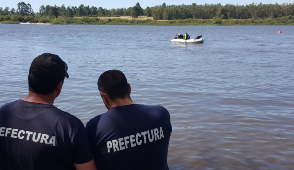 Trabajan intensamente en la búsqueda del joven de 22 años. Foto: Daniel Rojas
