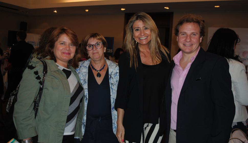 Alejandra Miranda, Beatriz Tuch, Karen Jawetz, Joaquín Morixe.