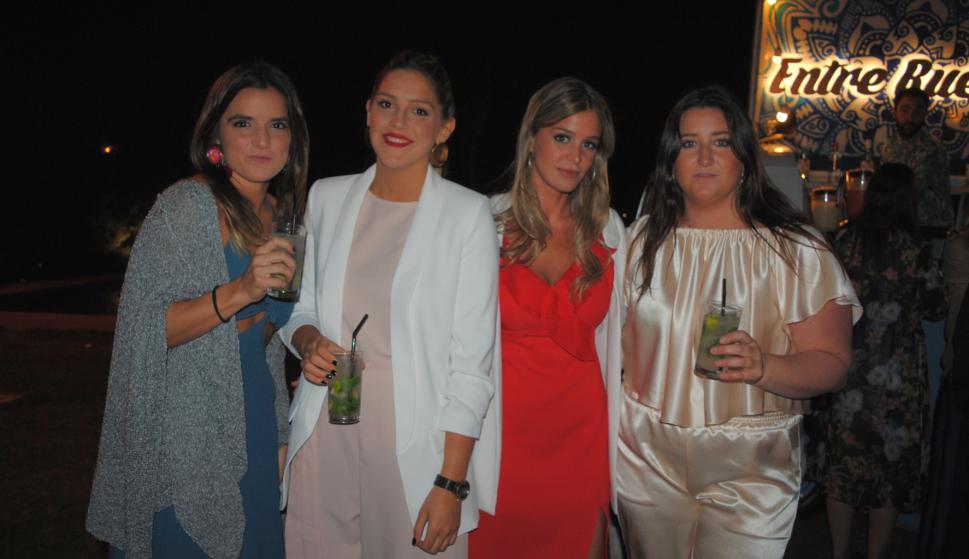 Catalina Pilotto, Soledad Shaw, Delfina Ventura, Pilar González.