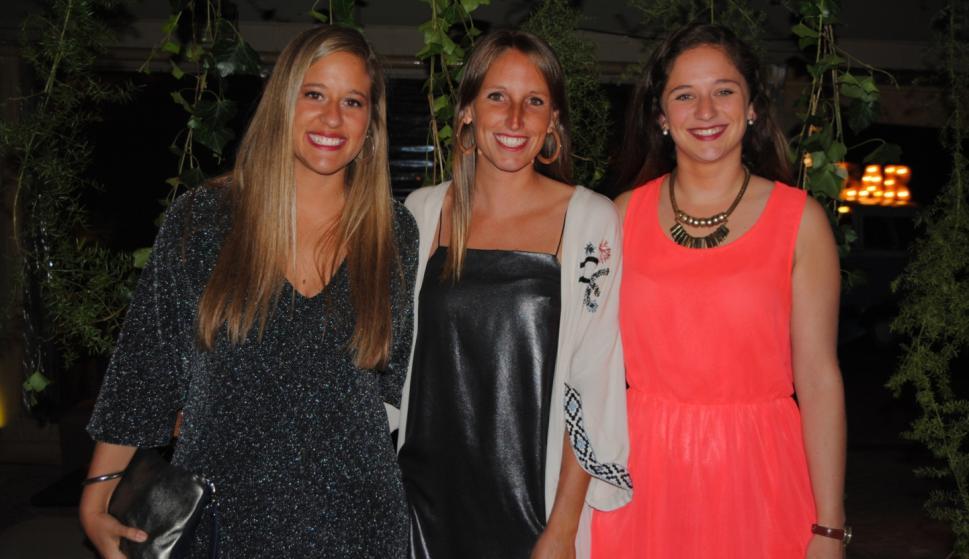 Paulina Costa, Clementina Surraco, Inés Muñoz.