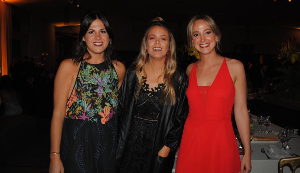 Sofía Rachetti, María Paz Lestido, Sofía Zaffaroni.