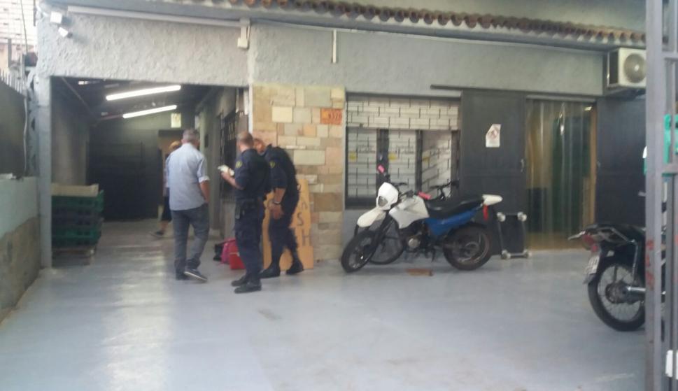 El dinero estaba en una caja fuerte y correspondía a los aguinaldos. Foto: El País.