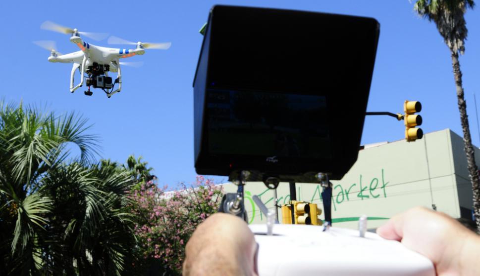 Muchos usuarios inexpertos destruyen el drone por mala utilización. Foto: M .Bonojour