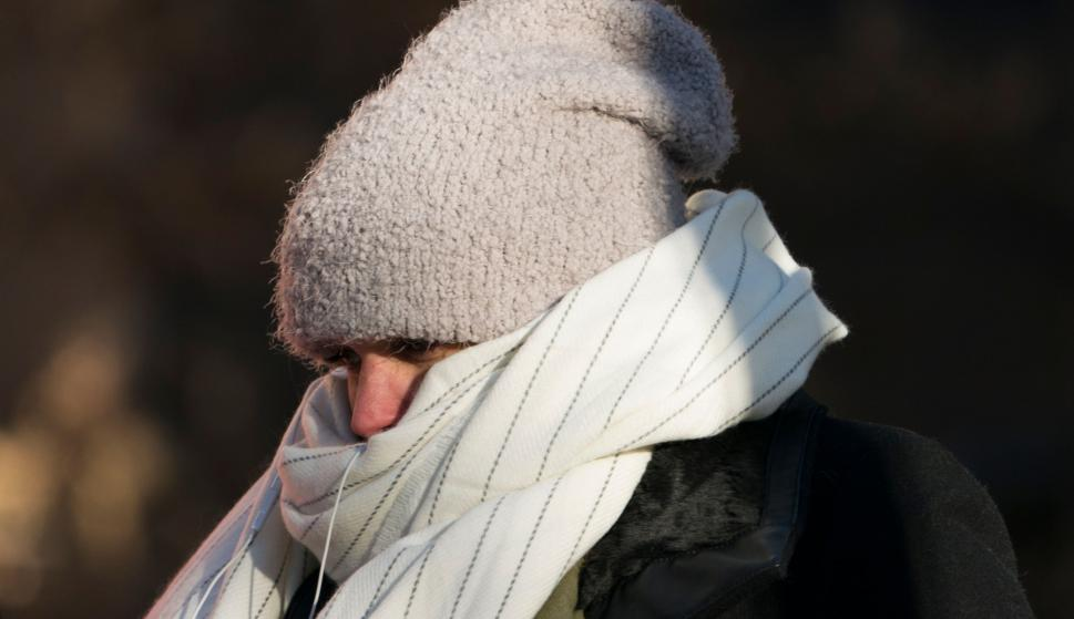 Ola de frío en el Este de EE.UU. Foto: AFP