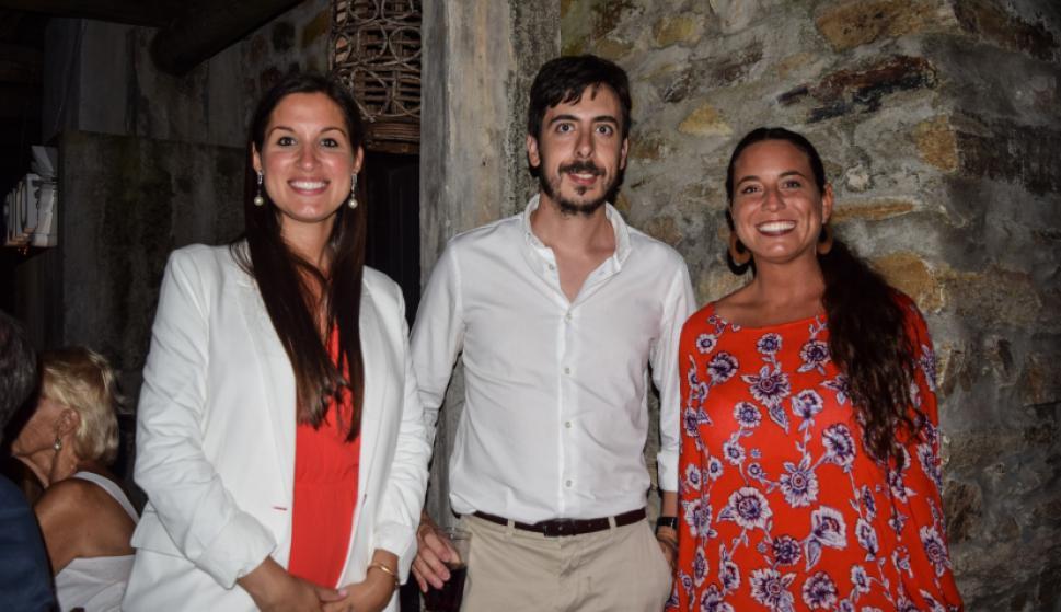 Verónica Quitadamo, Pablo Ferrero, Mayra Parrella.