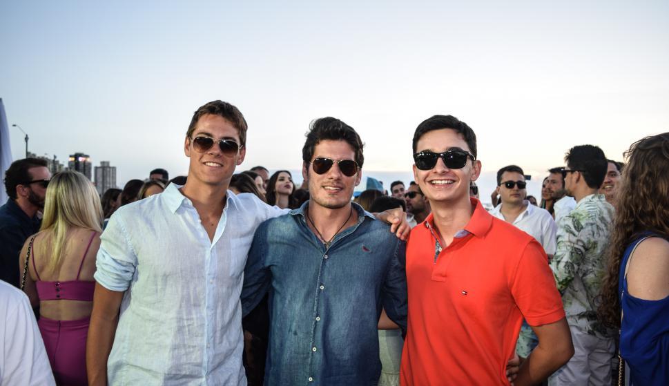Artur Costa, Mathias Weymar, Guilherme Gatti.