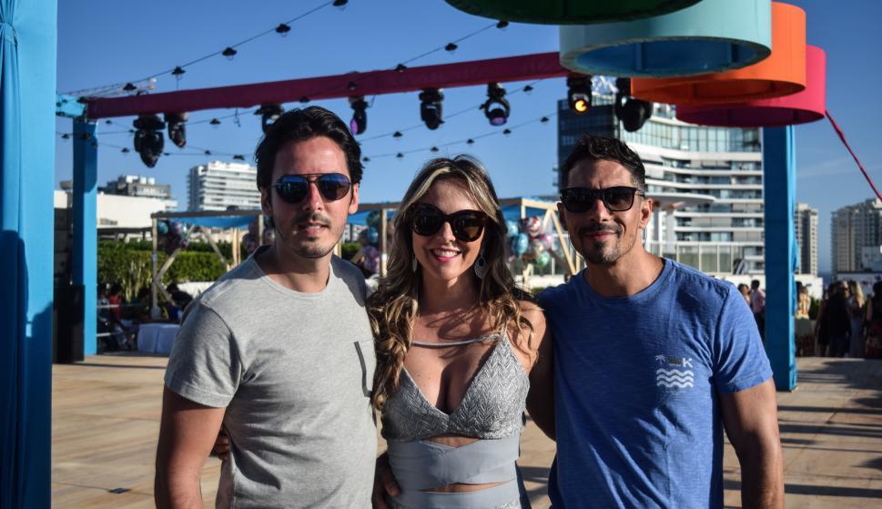 Eder y Mónica Zucconi, Daniel Gomes.