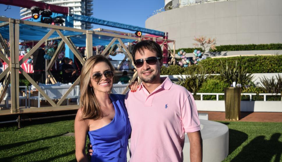 Roberta y Daniel Fernándes.