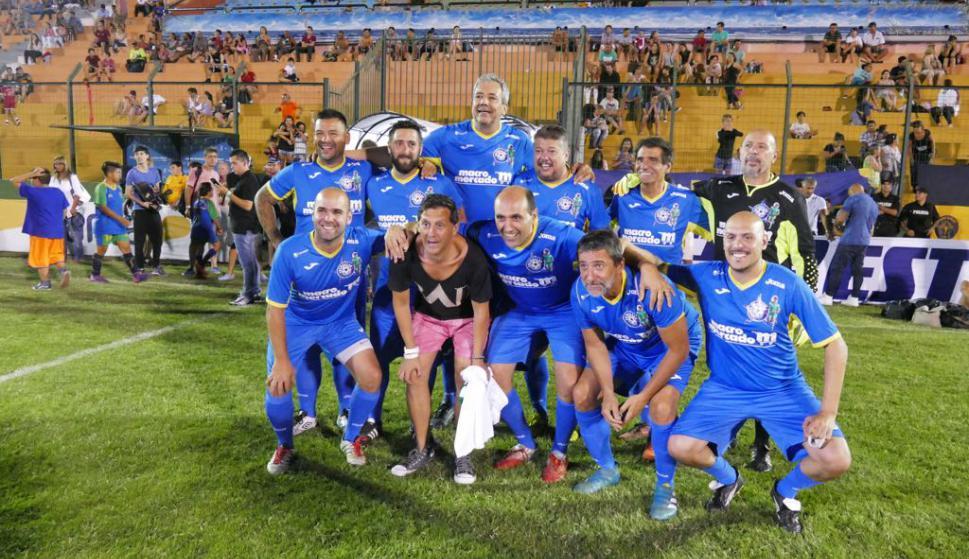Los integrantes del equipo azul. Foto: Ricardo Figueredo