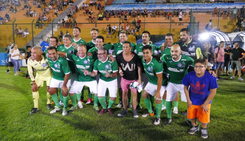 Los integrantes del equipo verde. Foto: Ricardo Figueredo