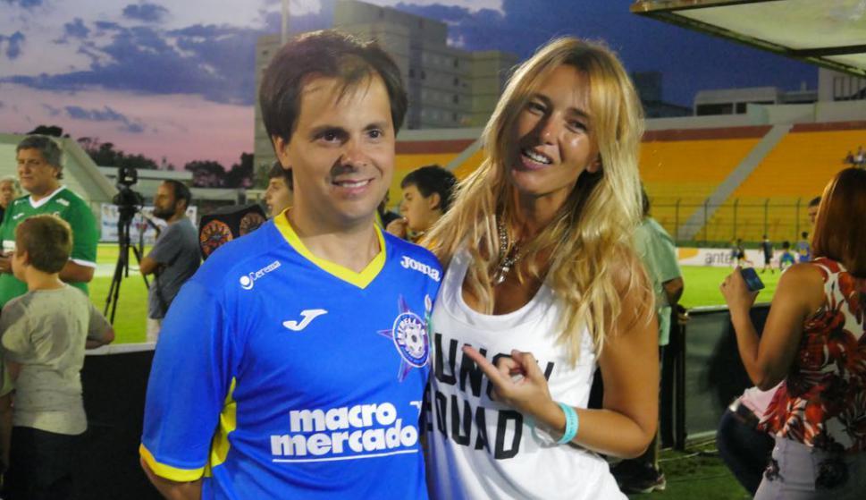 Ignacio Quartino y Patricia Fierro. Foto: Ricardo Figueredo
