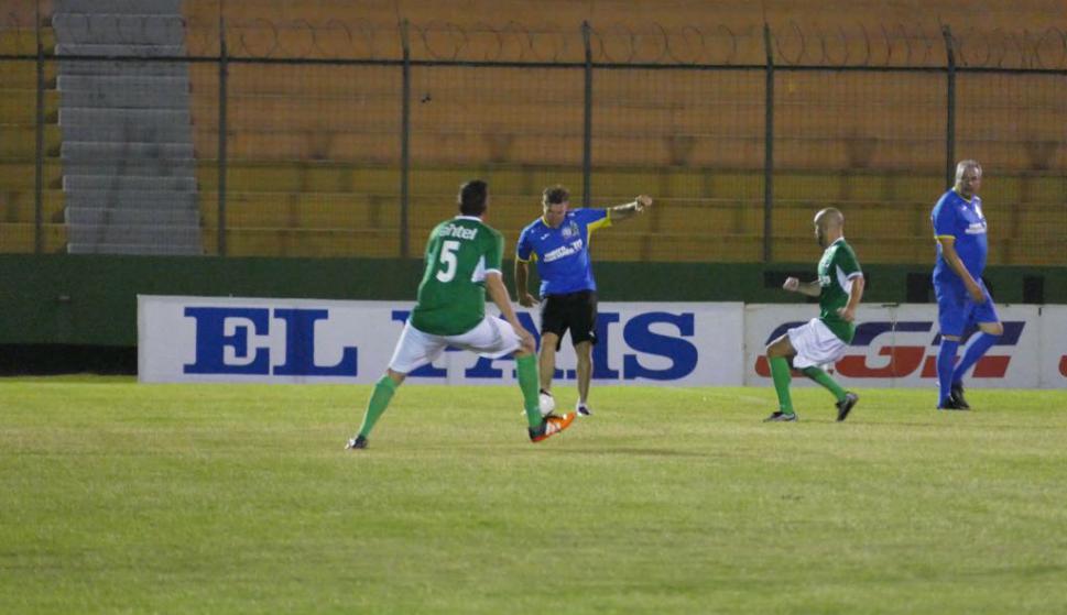El equipo azul venció al equipo verde. Foto: Ricardo Figueredo