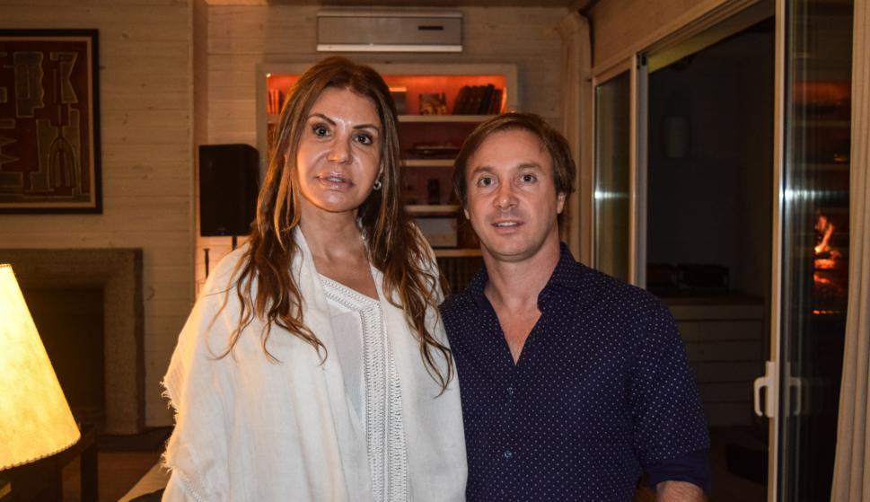 Melyna Deluchi, Fernando Pernas.