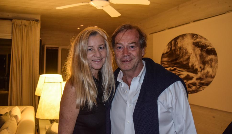Ester y Lucio Velo.