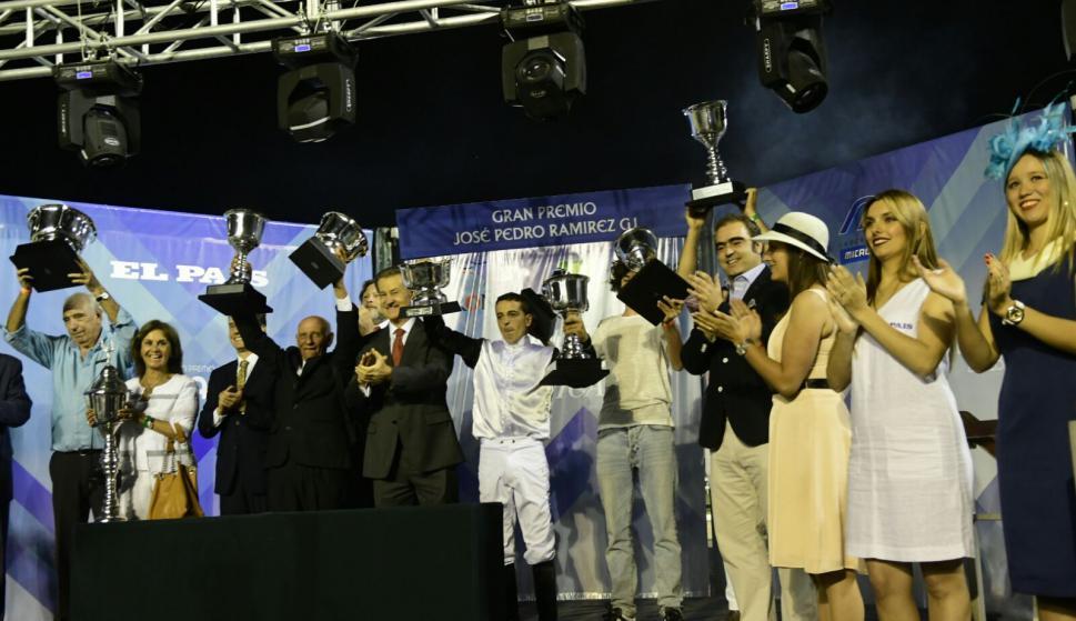 Gandhi Di Job, ganador del Ramírez en 2018. Foto: Marcelo Bonjour