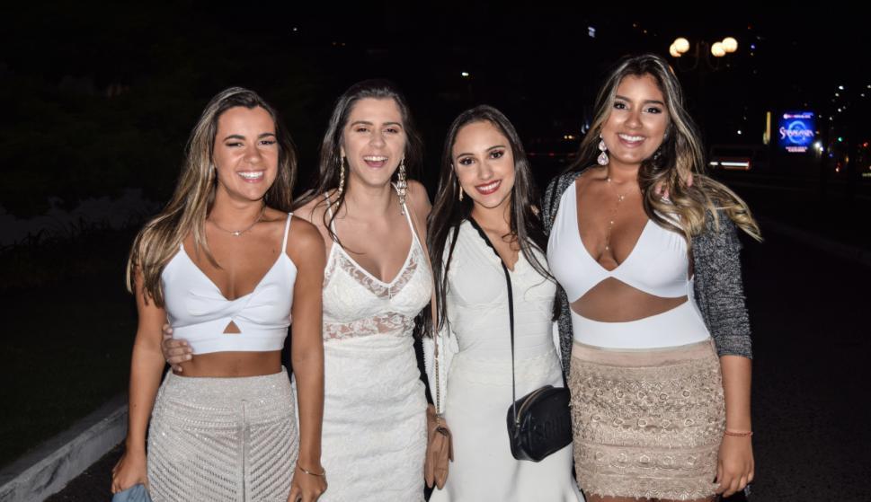 Marcela Blazejuk, Carolina Albuquerque, Luisa Bossle, María Fernanda Zepeda.